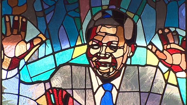 Praying for Mandela's recovery