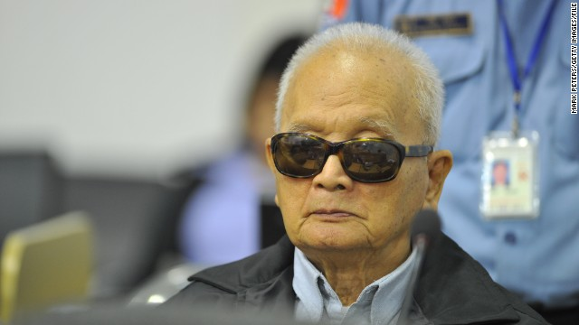 Nuon, 86, was the right-hand man to Pol Pot and a former Cambodian prime minister. He is accused of murder and torture.