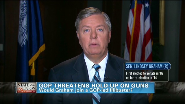 Graham on 'broken' gun control system