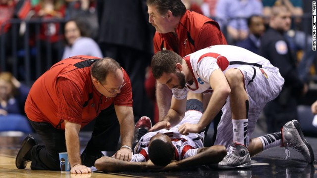 Ware leg injury gruesome, but fixable