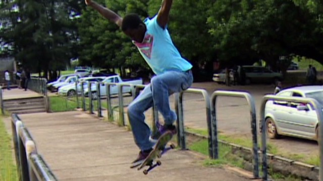 Meet Zambia's skateboarding rebels