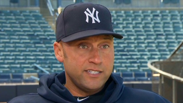 Derek Jeter: 'Odd' to be on sidelines