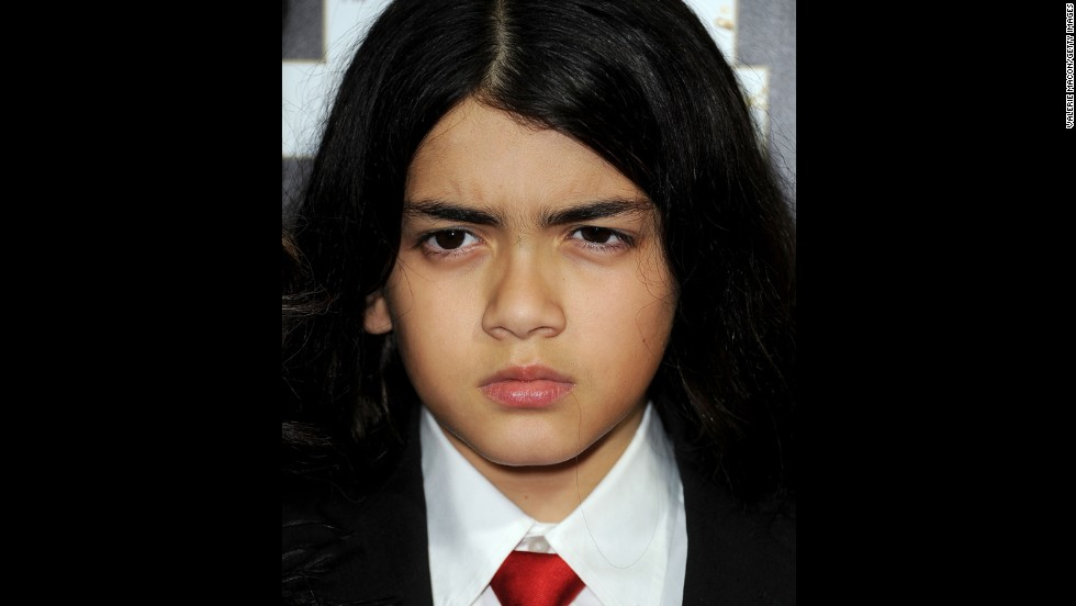 """<strong>Blanket Jackson:</strong> Although AEG Live asked the judge to order Blanket, 11, to sit for a deposition, and he is one of the four plaintiffs suing them, Michael's youngest son will not be a witness in the trial. His doctor submitted a note to the court saying it would be """"medically detrimental"""" to the child."""