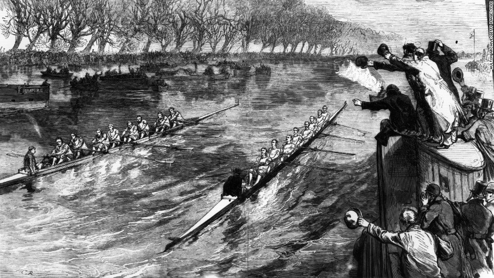 "Only one tie has ever occurred in the 184-year-history of the race, when judge 'Honest John' Phelps reportedly announcing it was a ""dead heat to Oxford by five feet,"" in 1877. The umpire later recorded the race as simply a dead heat."