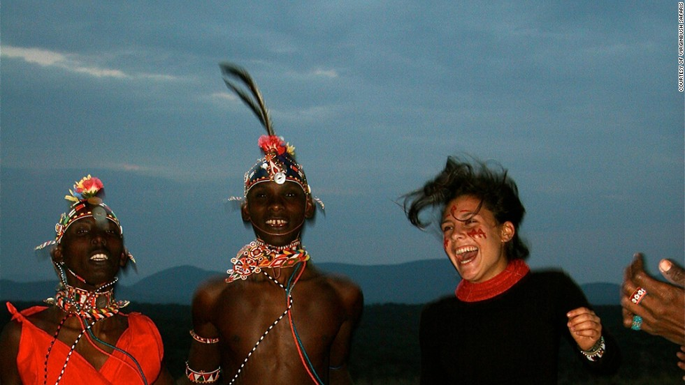 Cindi  Crain (pictured here, right) and Lisa Rolls founded Virgin Bush Safaris as a way to fulfill their dream of living in the veldt of East Africa.