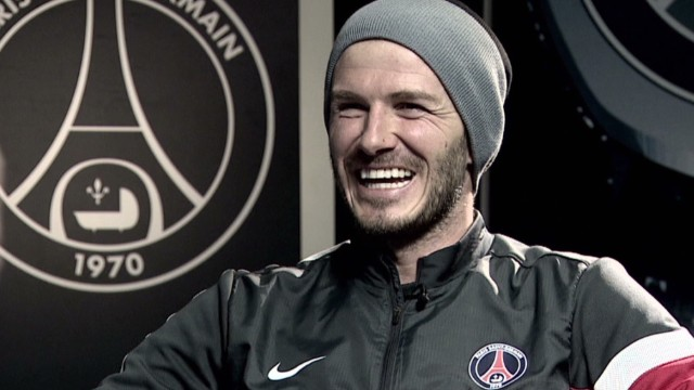 David Beckham's quick fire challenge