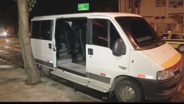 Arrests made after rape on Rio minibus