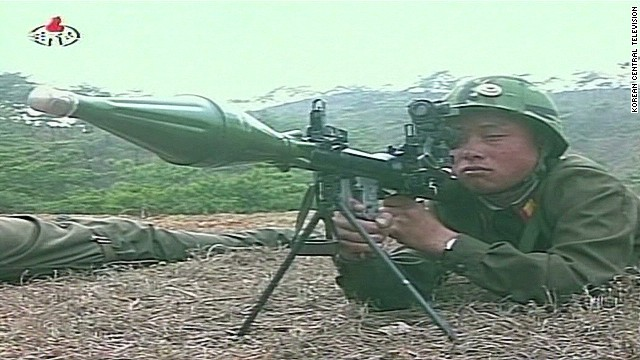 Live fire drills out of North Korea
