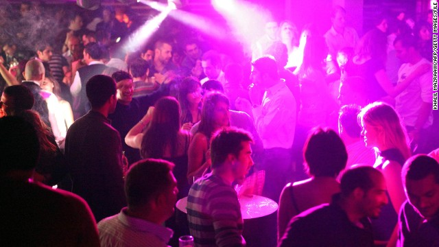 Young Jordanians take to the dance floor in an Amman nightclub as a new generation embraces secular ways.