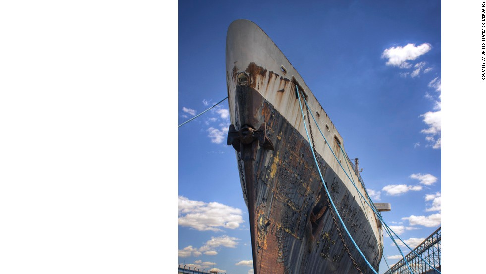 By 1969, trans-Atlantic airlines were hurting the ocean liner business. The SS United States was mothballed.