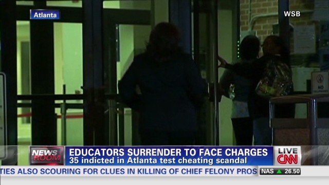 Cheating scandal hits Atlanta schools
