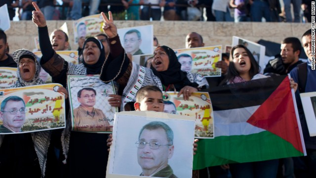 Palestinians angry over prisoner death