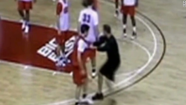 Watch Rutgers coach abuse players