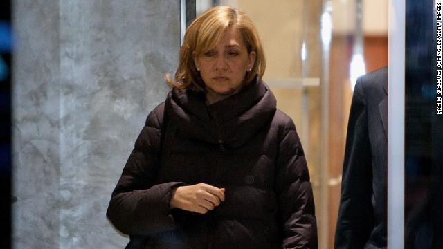 Spanish Princess testifies in court