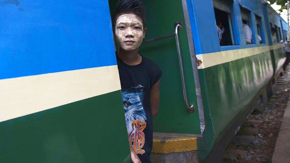 Poor condition of railway tracks means carriages get shaken about. This makes for a bouncy ride, but trains are still a great way to see the country. Myanmar's trains are slow and have a reputation for running late. The most reliable route, Yangon to Mandalay, takes about 16 hours, assuming no delays.