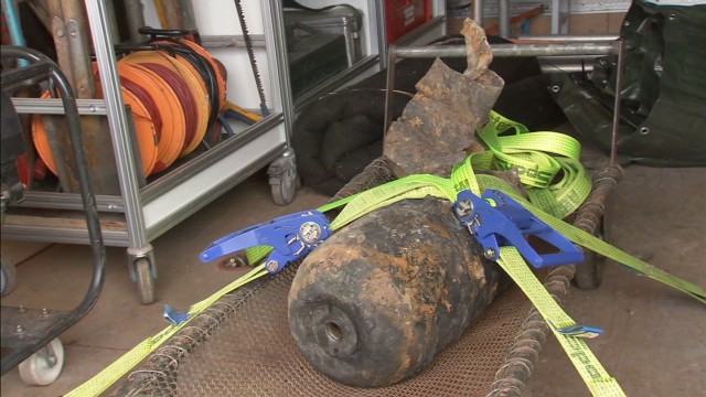 WWII bomb found in Berlin