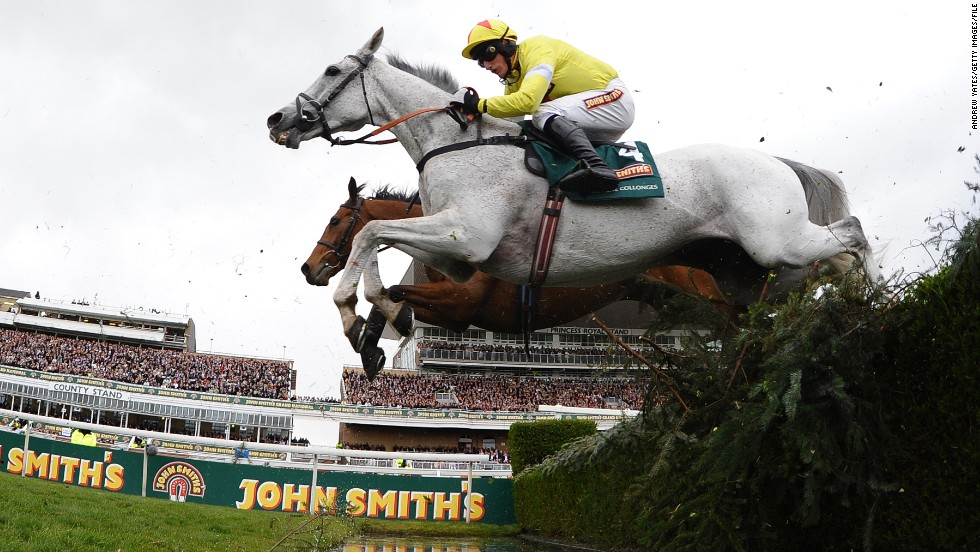 "Despite the deaths, the race is still the most popular sporting event in Britain, with a national TV audience of 11 million. ""Each Aintree fence is unique and the challenge is just about as testing as it gets in sports,"" said  Ladbrokes betting agency spokesman, David Williams."