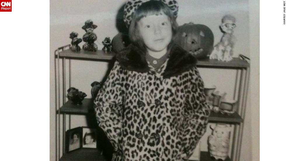 "At 5 years old, <a href=""http://ireport.cnn.com/docs/DOC-949032"">Julie West </a>wore a matching coat and hat in 1967. ""I fancied myself a movie star or model wearing them,"" she says. ""My mom really liked to dress nicely. Once she settled into her life in Chicago, she loved to shop and always made sure we wore the latest fashions."""