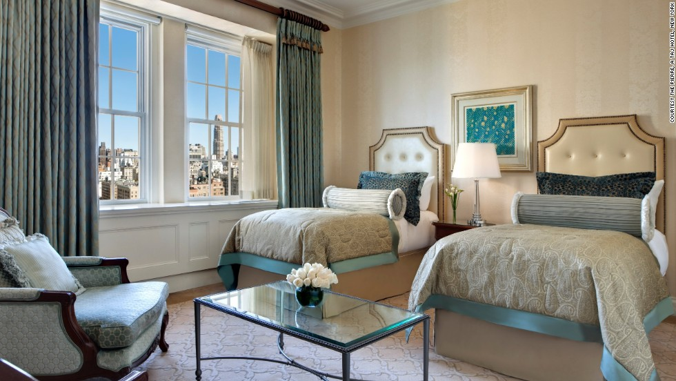 Check in to a stylish city-view or Central Park-view room.