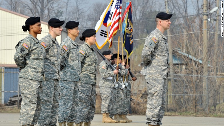 When is a U.S. combat troop not a U.S. combat troop?