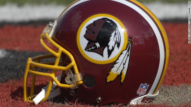 Magazine bans Redskins' name