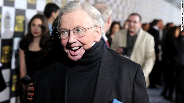 Film critic Roger Ebert arrives at the 25th Film Independent's Spirit Awards held at Nokia Event Deck at L.A. Live on March 5, 2010 in Los Angeles, California