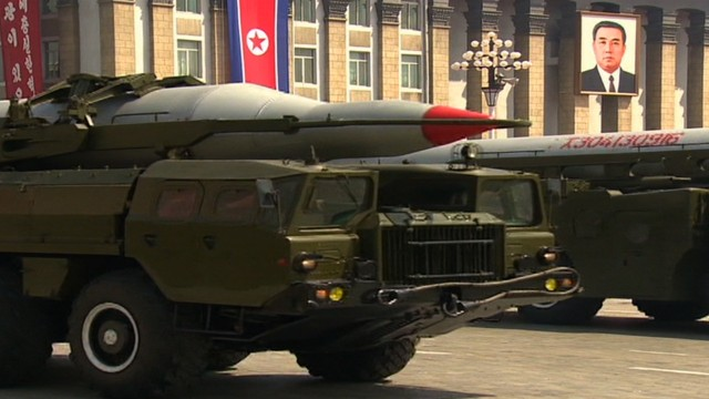 N. Korea loads missiles in launchers