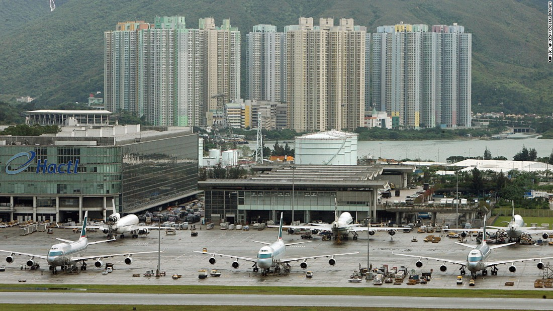 Hong Kong International Airport held on to its fourth-place spot in the best airport award category, serving over 100 airlines operating flights to about 180 locations worldwide.