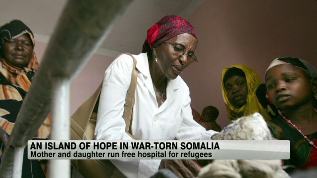 An island of hope in war-torn Somalia