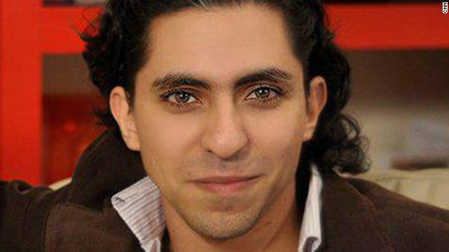 Raif Badawi has been in prison since June