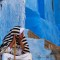 colorful cities Chefchaouen Morocco