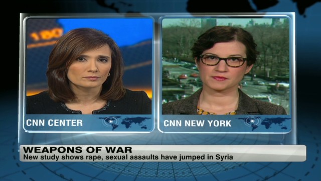 Rape as a tool of war in Syria