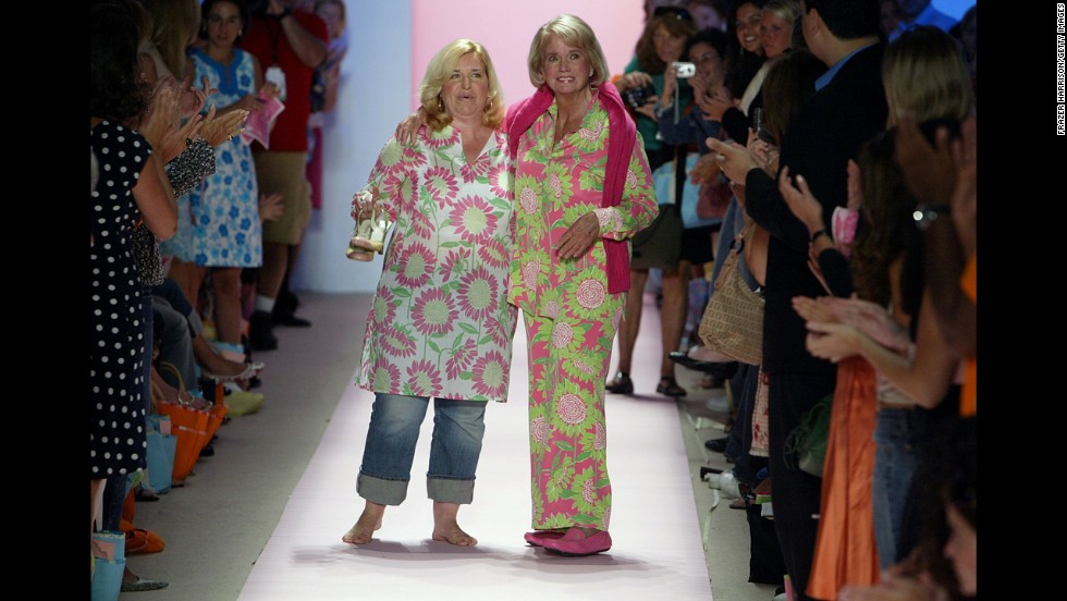 iconic fashion designer lilly pulitzer rousseau dead - cnn