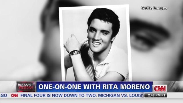 Rita Moreno recalls Brando, Elvis
