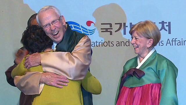U.S. veteran returns to South Korea