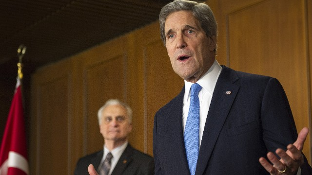 Kerry mourns U.S. Afghan envoy