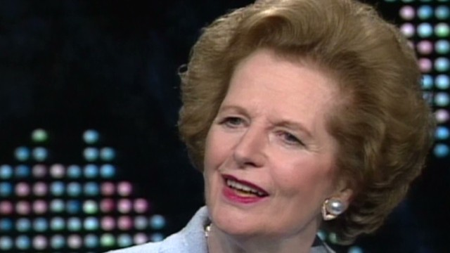 Thatcher: I enjoyed company of elders
