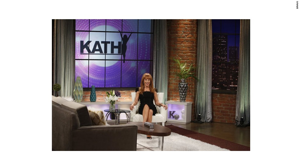 "Like Sykes, Kathy Griffin is a veteran comic with experience hosting her own show. Unfortunately, Bravo pulled the plug on ""Kathy"" after two seasons."