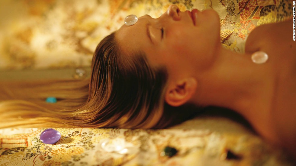 Don't forget to pamper yourself with a spa treatment.