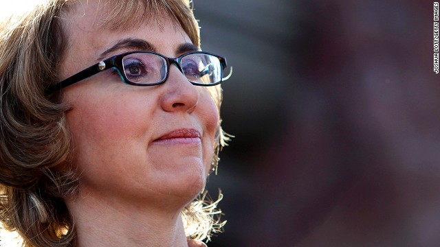 Giffords tweets support following baseball practice shooting