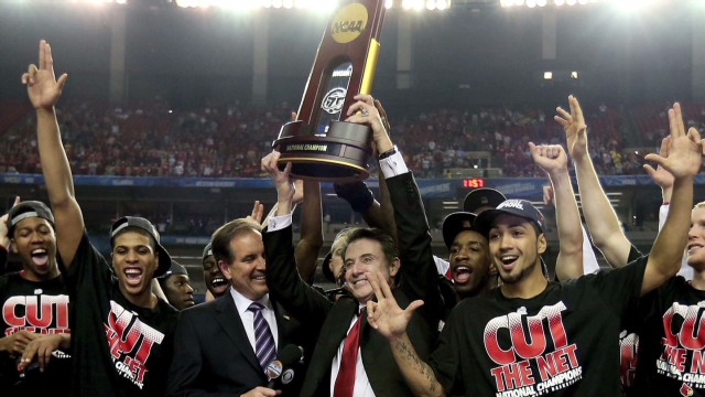 Rick Pitino: 'We will celebrate'