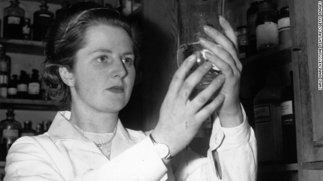 Margaret Thatcher, the chemist