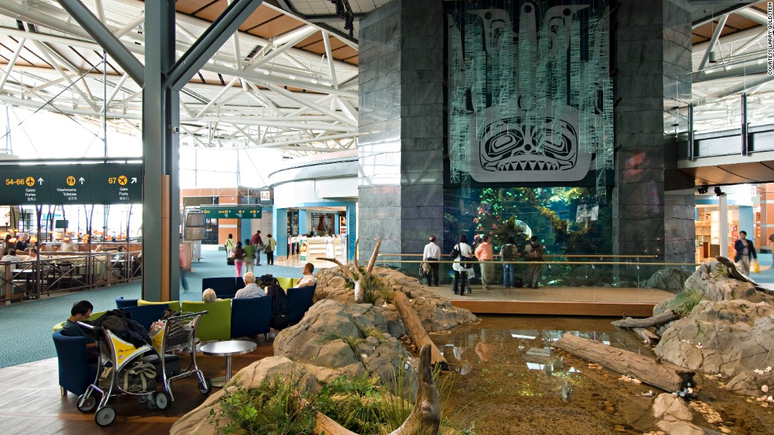 """Ultra-welcoming, thoughtfully designed, extremely comfortable and fantastically friendly, YVR topped our North American charts for another year running,"" said Sleeping in Airports. Highlights at Vancouver International Airport include the giant aquarium in the international departures lounge, dozens of art and museum exhibits, self-guided tours and a decent variety of shops and restaurants."