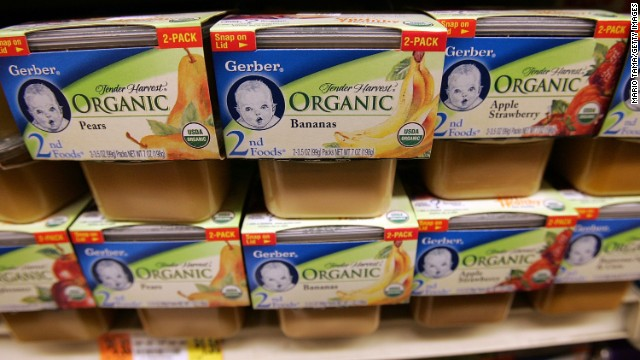 Gerber is one of several baby food makers named in a civil lawsuit asking that lead warnings be posted on their products.