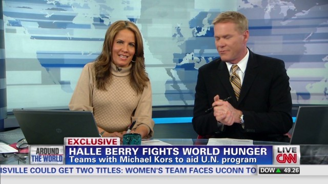 Berry and Kors fight world hunger