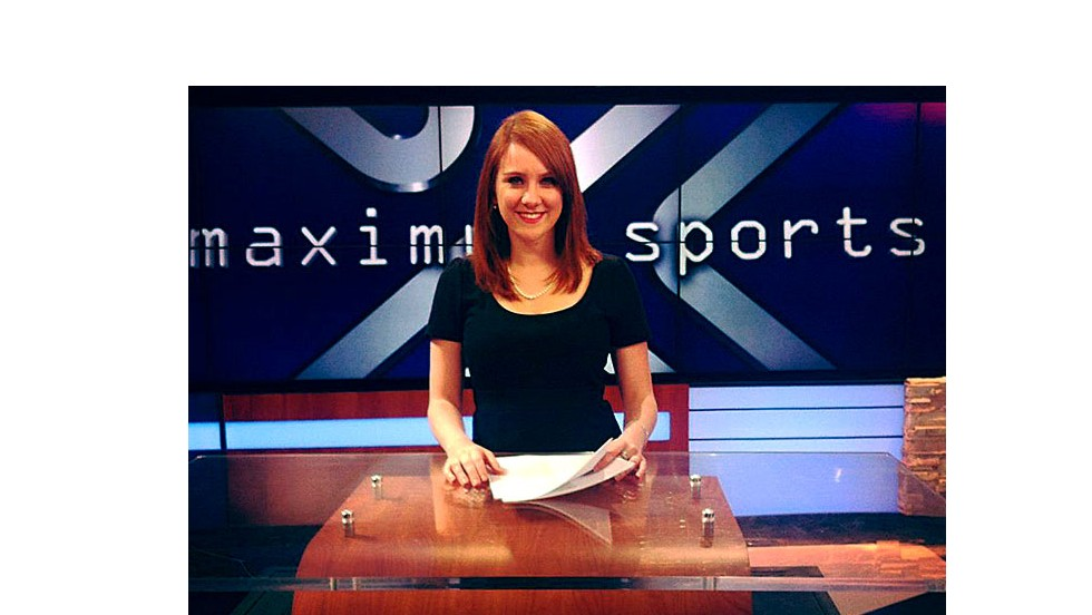 Jessica Ghawi was starting a career in sports journalism.