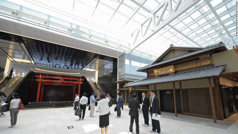 Another Asian contender was Tokyo's Haneda International Airport, which topped the polls for airport cleanliness.