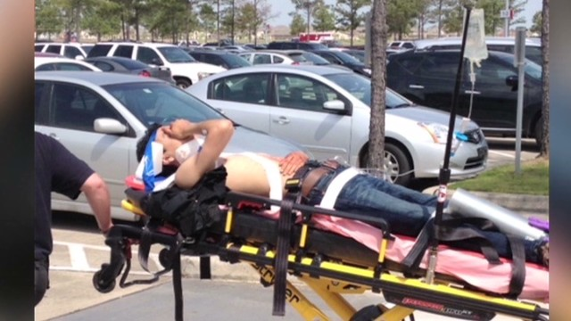 Horrific scene at Lone Star College