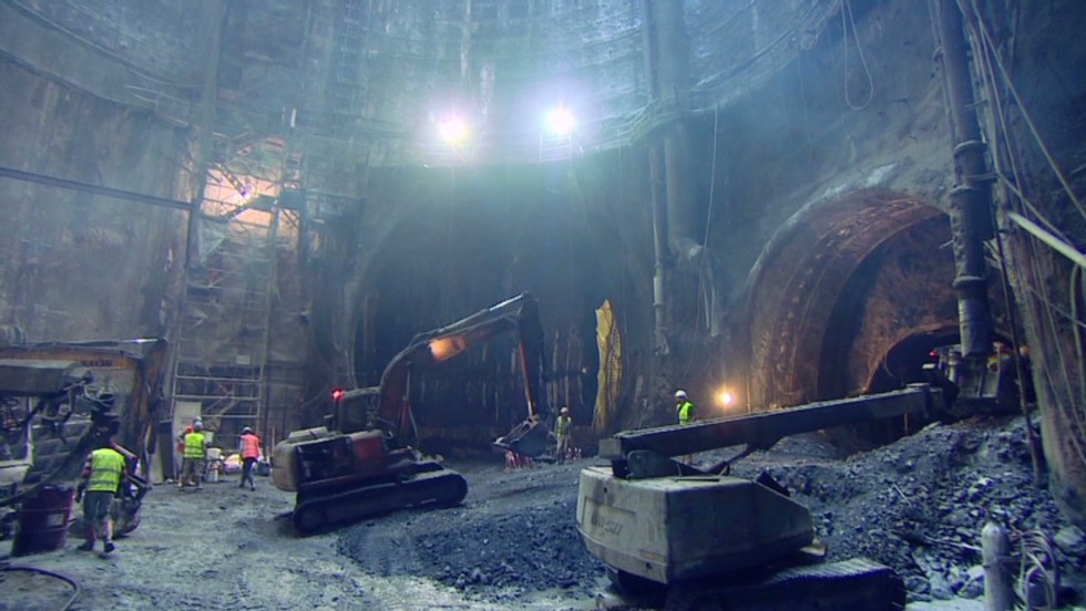 The Marmaray Project is a 76-kilometer (47.2-mile) subterranean development that will connect railway lines on either side of Istanbul's Bosphorus Strait.