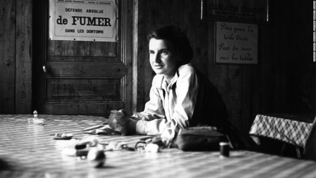 British chemist, crystallographer and biophysicist Rosalind Franklin (1920-1958) was the first to hypothesize and show, through x-ray diffraction, the double helix structure of DNA. Her discovery laid the ground work for Francis Crick and James Watson's molecular model of DNA. The Nobel Prize can only be shared by three living scientists and so Franklin was barely acknowledged when it was awarded to Watson, Crick and Maurice Wilkins for the discovery of the double-helix in 1962.